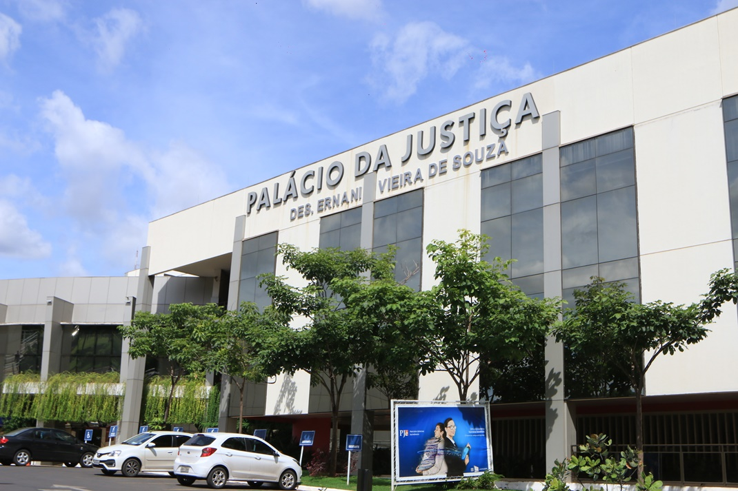 Fachada da Palácio da Justiça