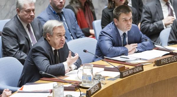 Secretário Cons. Segurança ONU