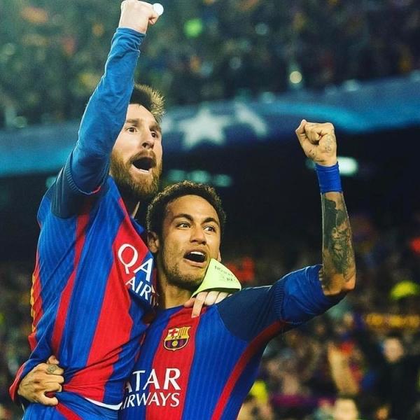 Neymar Messi