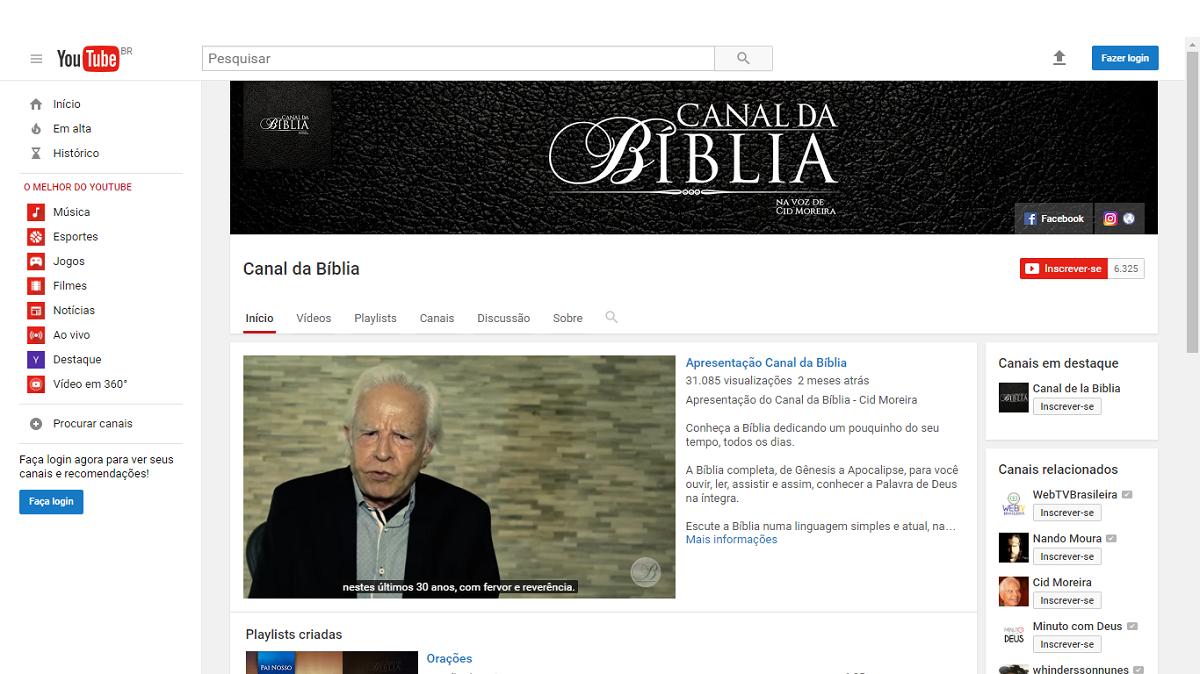 Canal da Bíblia Cid Moreira