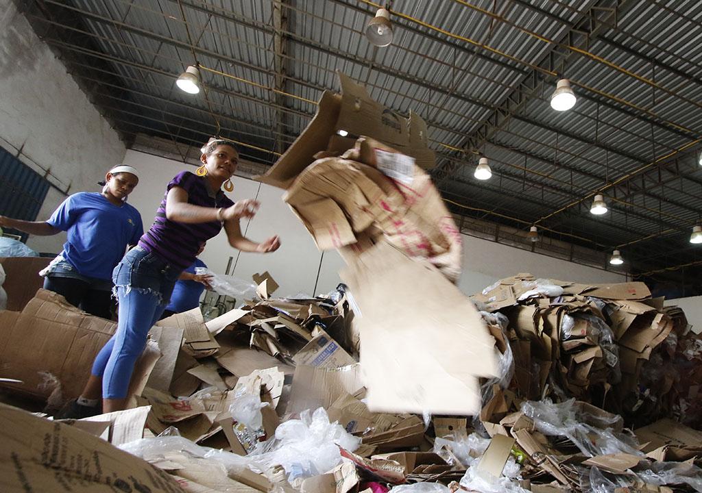 Projeto Coopermar de reciclagem