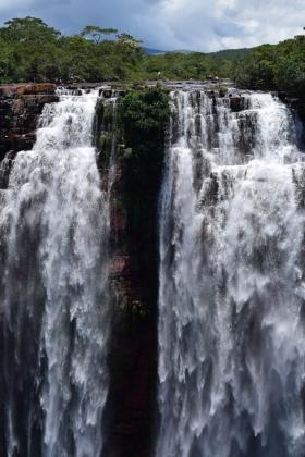 Cachoeira do Jatobá, a mais alta de MT e a quarta do Brasil - Maria Angélica Oliveira