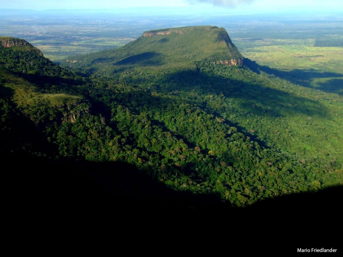 Parque Estadual da Serra de Ricardo Franco - Mario Friedlander