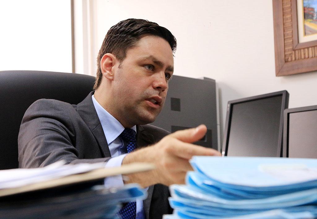 Promotor de Justiça Frederico Cezar