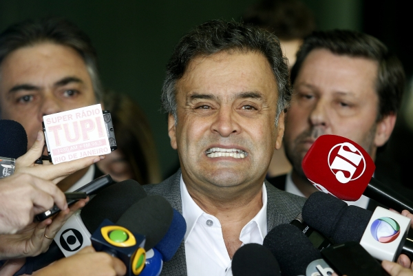 Aécio Neves, senador do PSDB