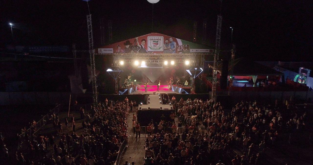Show de Chitãozinho e Xororó em Várzea Grande