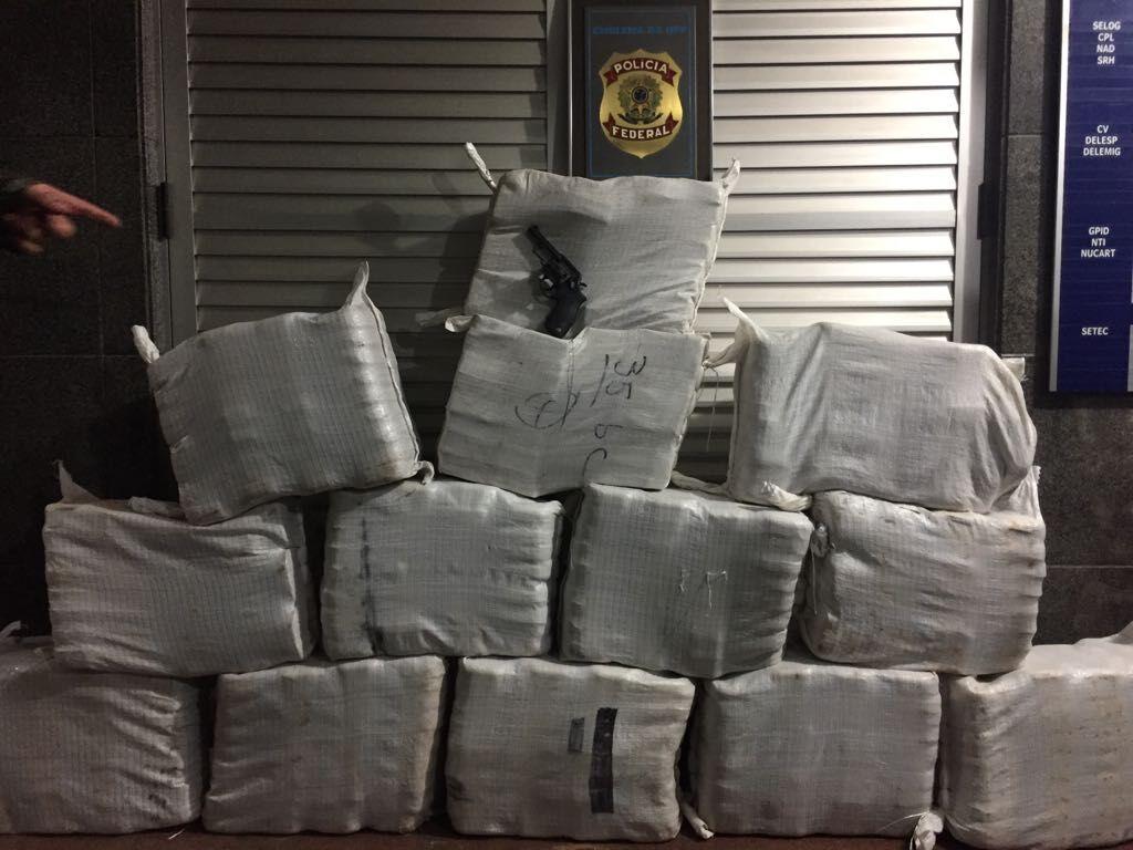 Cocaína apreendida em fazenda em Porto Jofre, Poconé