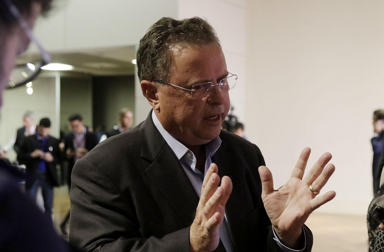 Ministro Blairo Maggi, durante Seminário Agronegócios a força do campo em Cuiabá