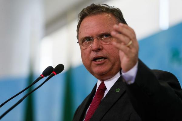 Ministro da Agricultura, Blairo Maggi, no lançamento do Plano Safra