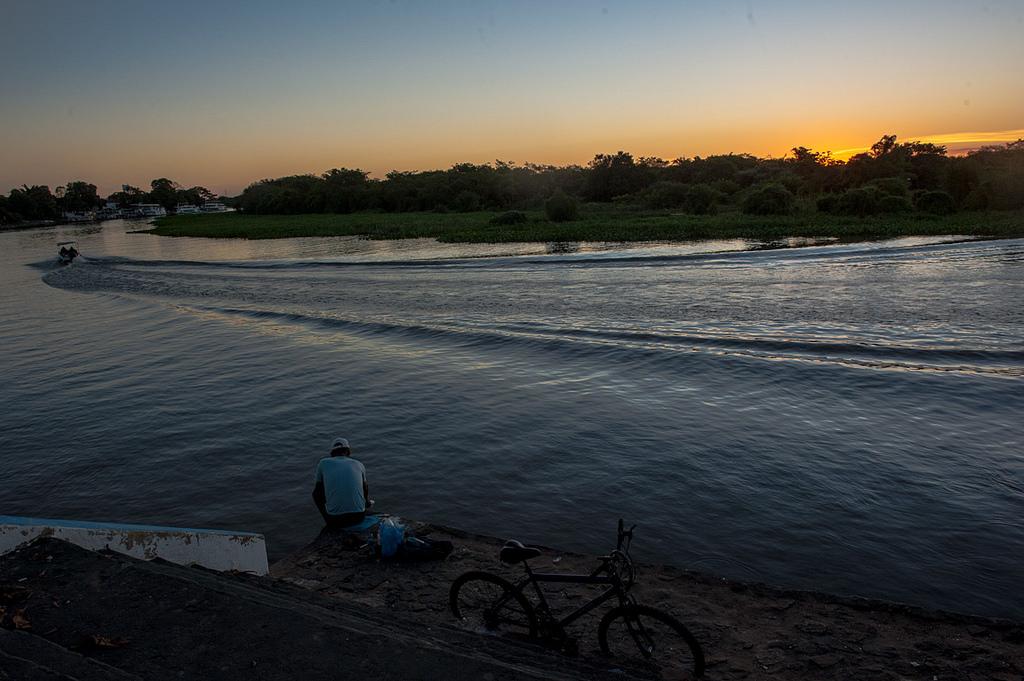Rio Paraguai, em Cáceres