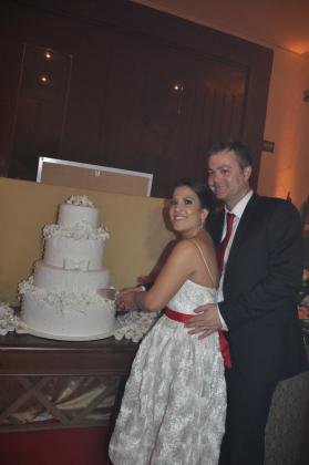 Celeste Lustoza e o marido, Paulo Inglis - Arquivo pessoal