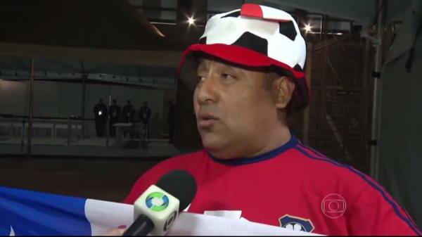 Adriel Zapata o chileno perdido