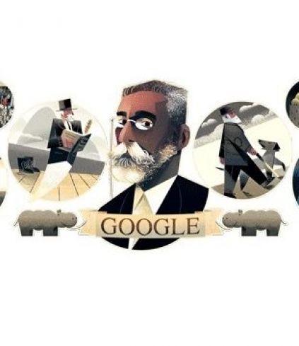Google celebra aniversário do autor Machado de Assis