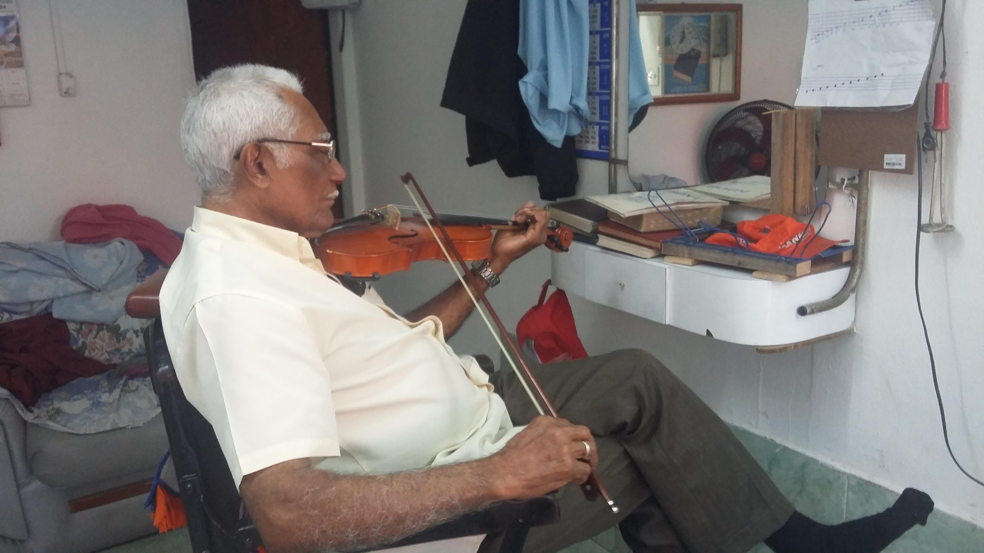 Barbeiro violinista
