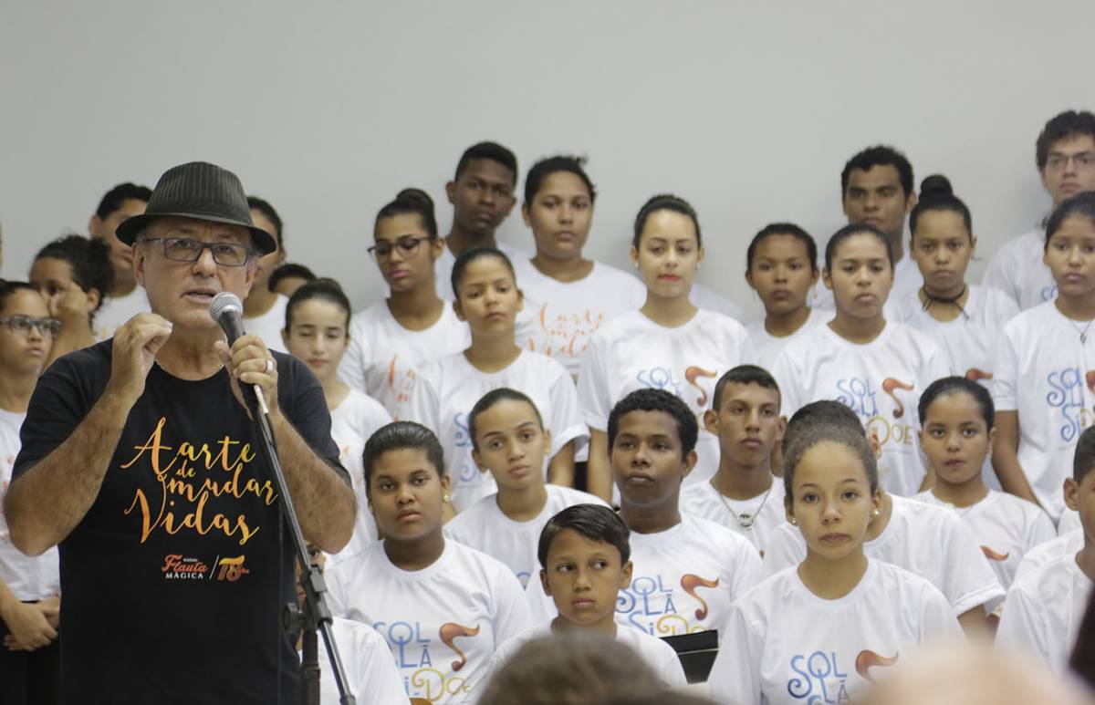 Projeto Flauta Mágica - Ednilson Aguiar/O Livre