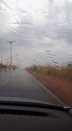 Chuva em Diamantino - Reprodução
