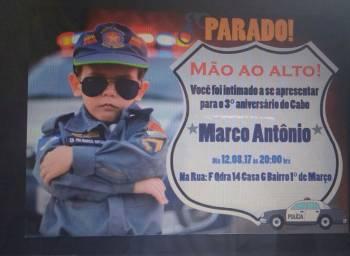 Marco Antônio e a PM