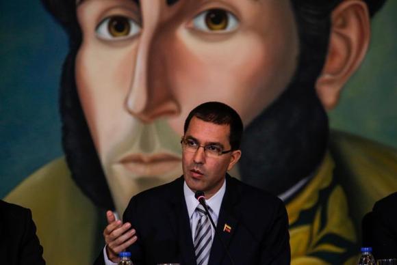 chanceler da Venezuela Jorge Arreaza