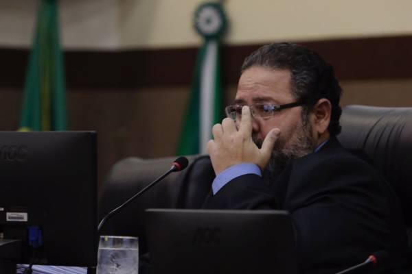 Justino Malheiros, presidente da Câmara de Vereadores de Cuiabá