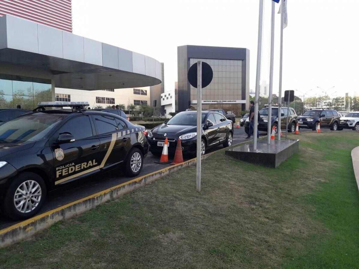 Operação Malebolge, Polícia Federal - O Livre