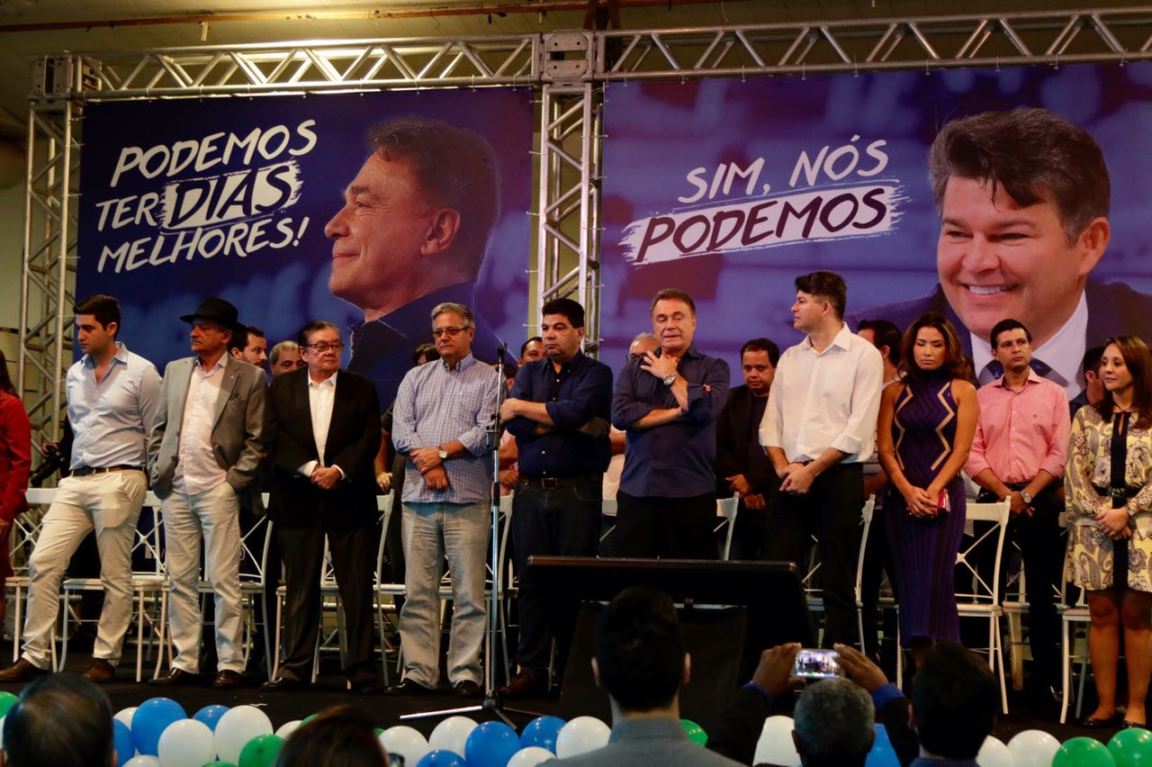 Alvaro Dias encontro Podemos