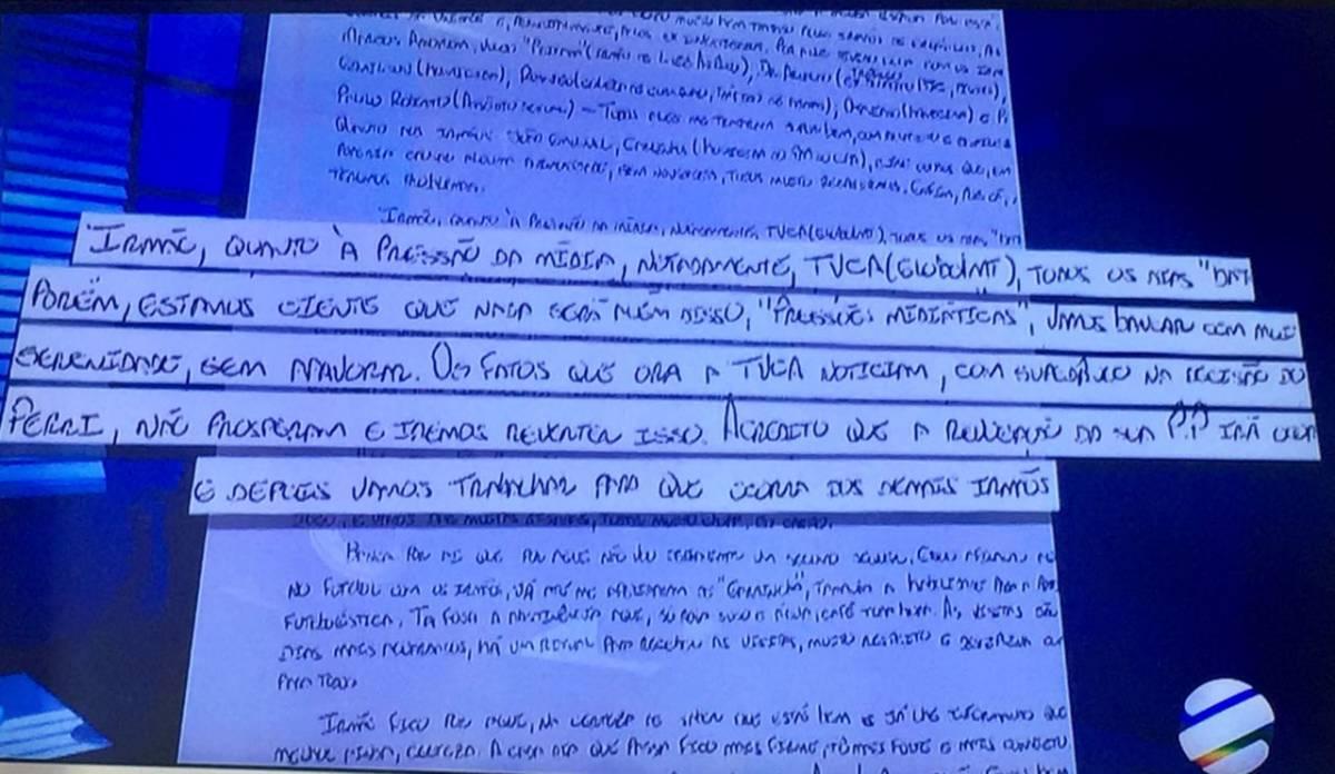 Carta cabo Gerson