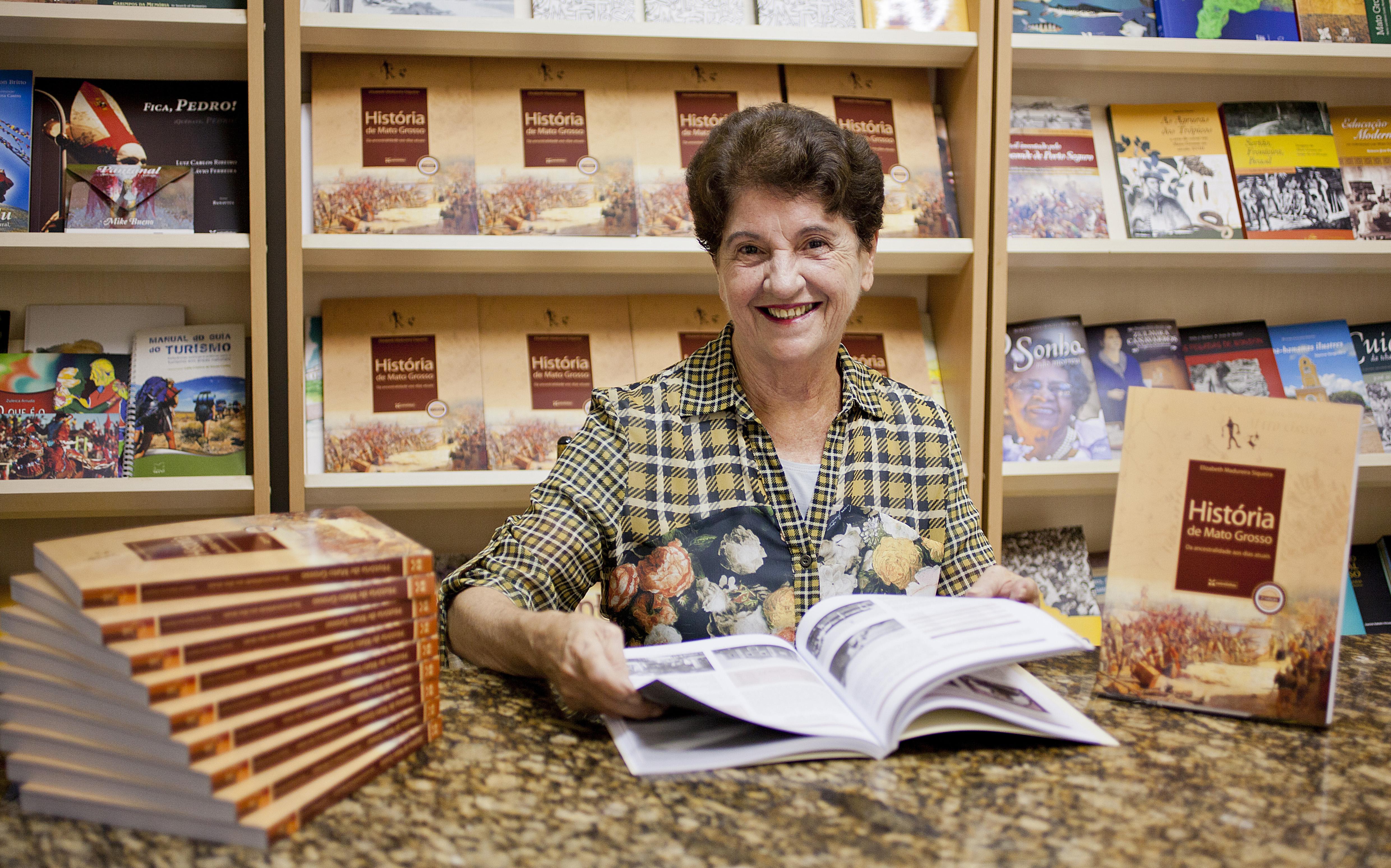 Elizabeth Madureira - História de Mato Grosso