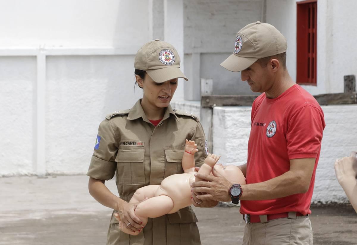 corpo de bombeiros, tenente Cavalcante