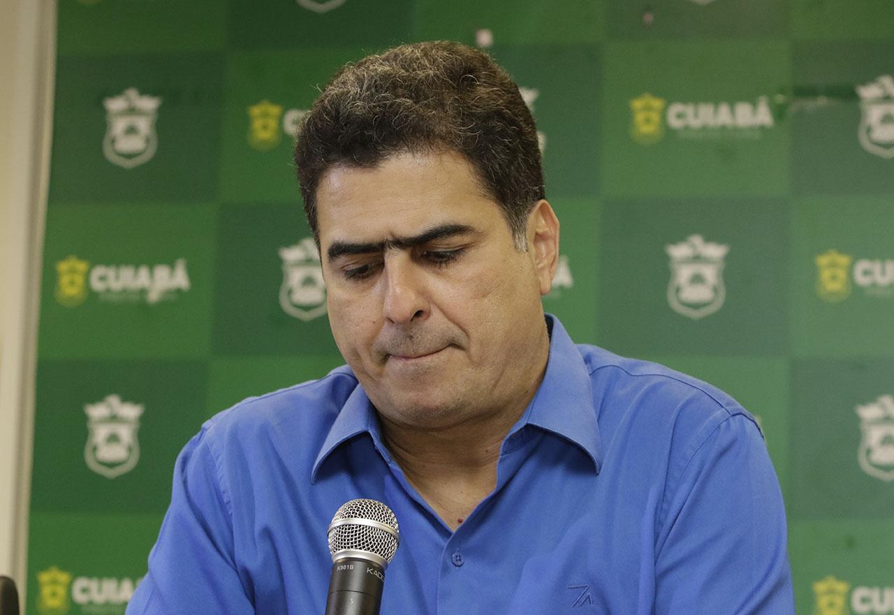 prefeito de Cuiabá, Emanuel Pinheiro