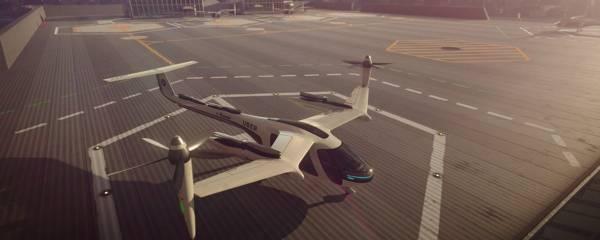 Carro voador da Uber  e NASA
