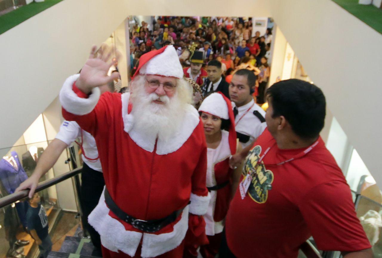 chegada Papai Noel