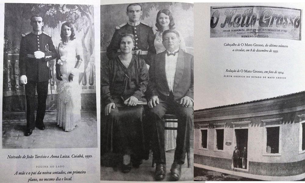 Parte da família Calhao - Anna Luiza casamento jornal