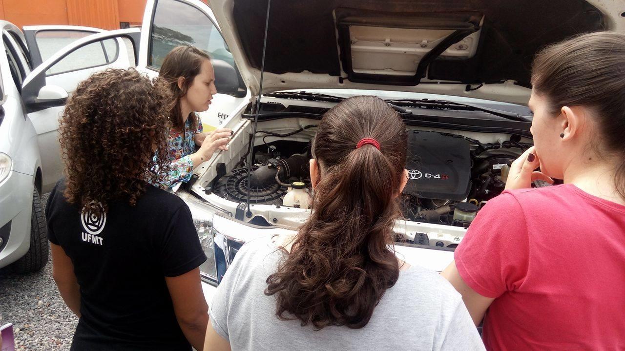 mecânica para mulheres