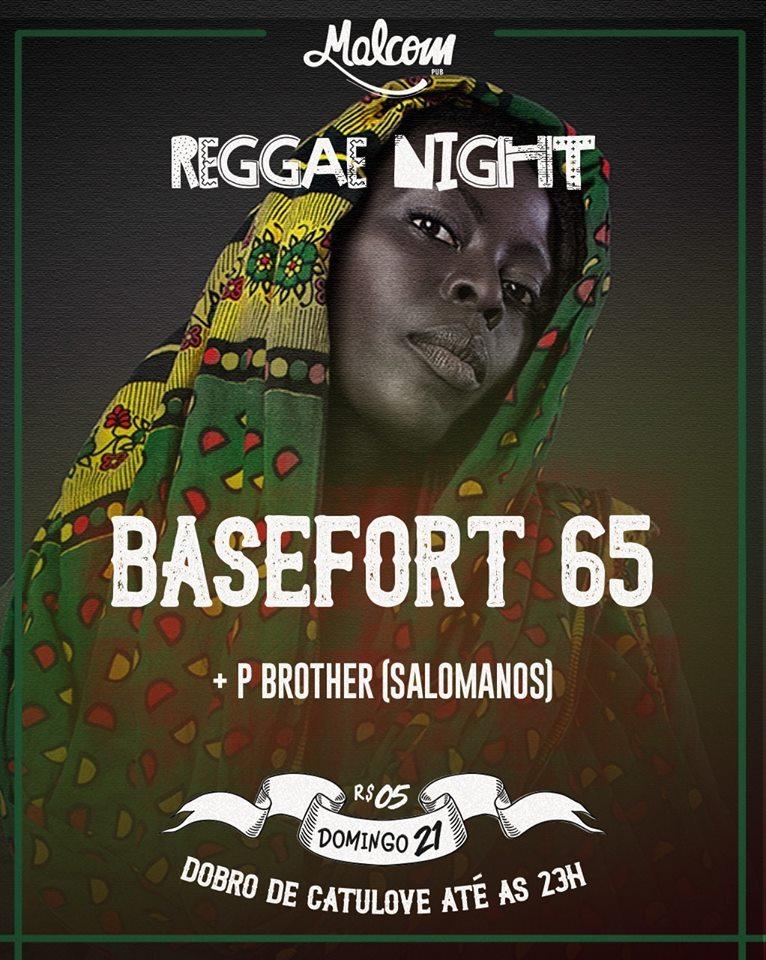 reggae night malcom