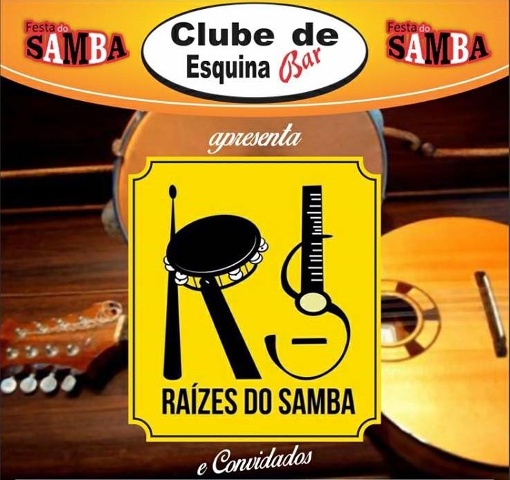 raizes do samba no clube de esquina