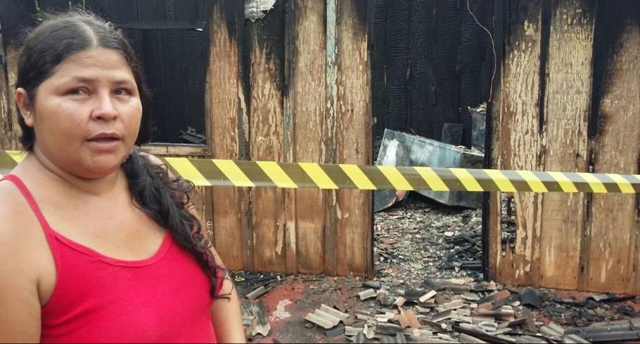 Desempregadas há meses, irmãs perdem tudo em incêndio