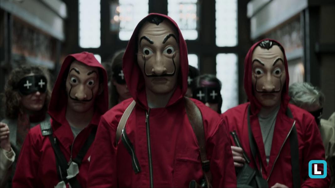 Resultado de imagem para mascaras da série LA CASA DE PAPEL