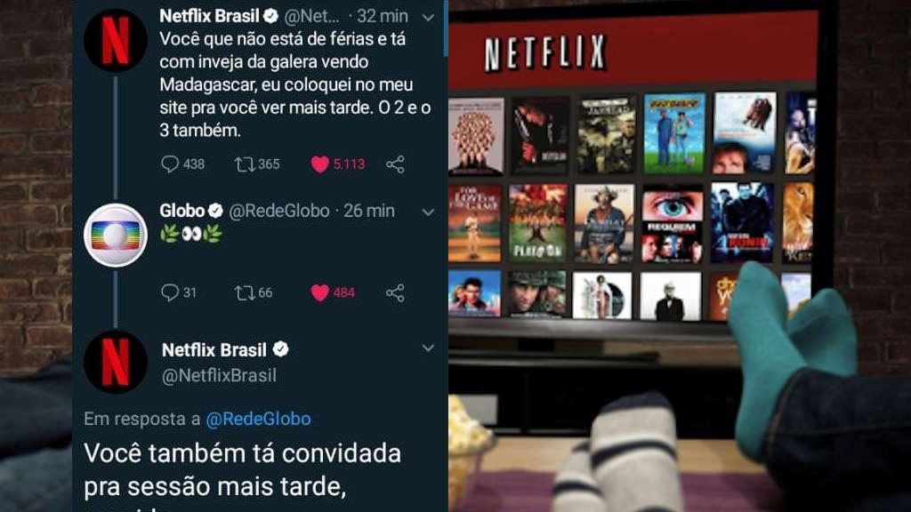 Netflix Solta Indireta Para Globo Durante Sessao Da Tarde E Viraliza Nas Redes O Livre