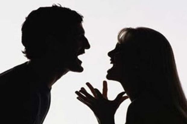 Briga de casal, violência, mulher