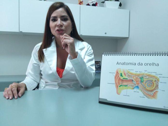 Fonoaudióloga Vanessa Moraes